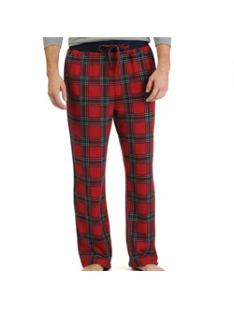 Wholesale Red and Grey Men's Flannel Pajama Manufacturer