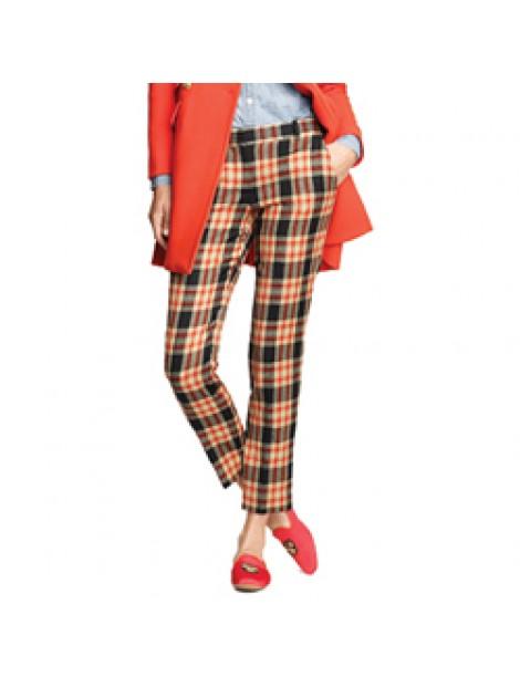 Wholesale Ankle Length Women's Flannel Pants Manufacturer