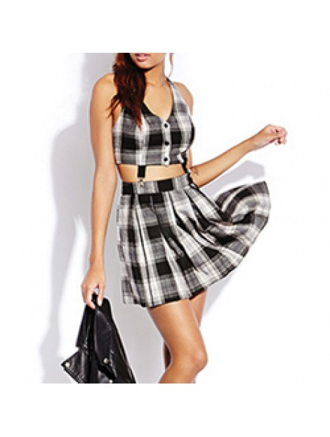 Wholesale Fabulous Flannel Suspender Dress Manufacturer