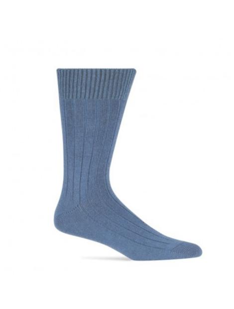 Wholesale Sky Blue Woolen Socks Manufacturer