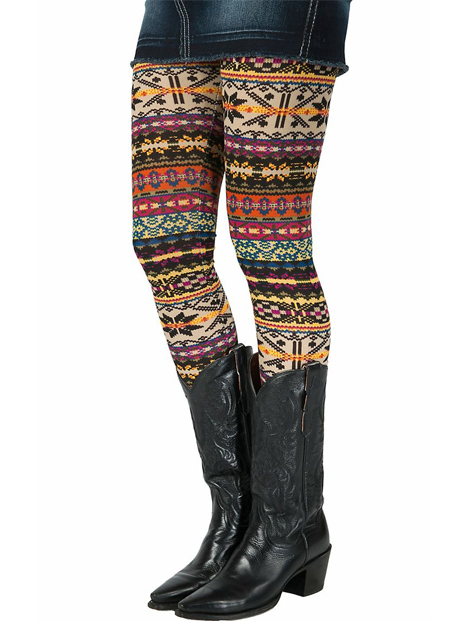 Wholesale Aztec Printed Women's Leggings Manufacturer