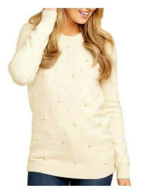 Wholesale Beige Women's Sweater Manufacturer