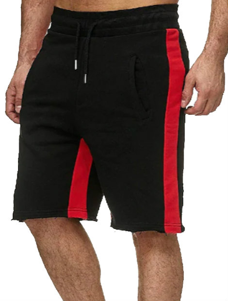 Wholesale Black and Red Shorts