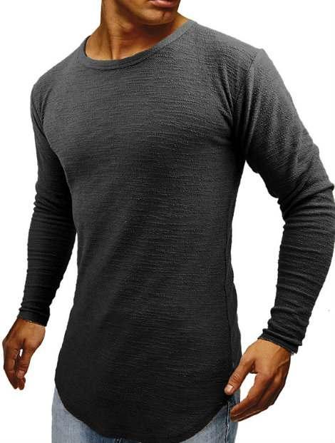 Wholesale Black Full Sleeve Men's Fitness Apparel Manufacturer