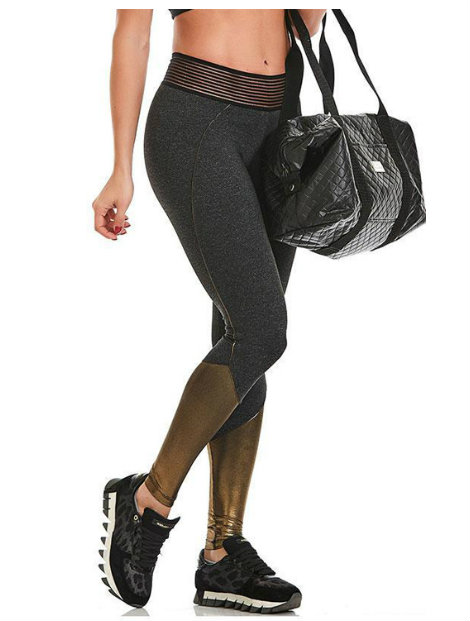 Wholesale Black and Golden Stunning Tights Manufacturer