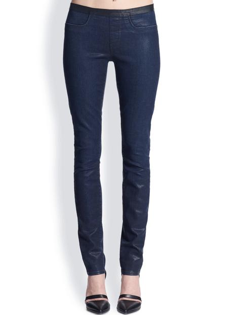 Wholesale Blue Denim Leggings Manufacturer