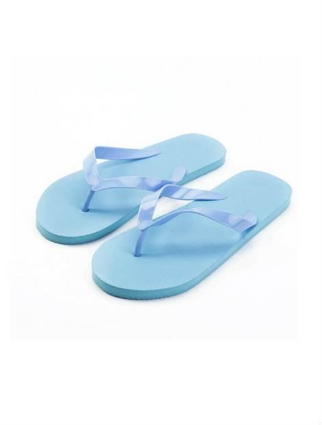 Wholesale Simple Sky Blue Flip Flops