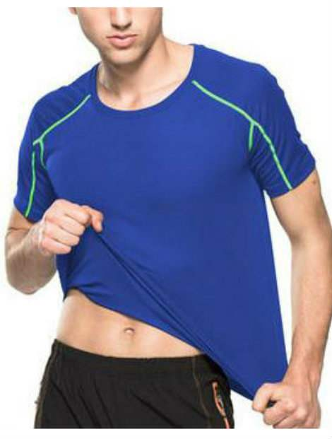 Wholesale Blue and Green Soccer Tee Shirt
