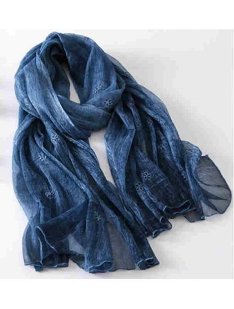 Wholesale Trendy Blue Scarf Manufacturer