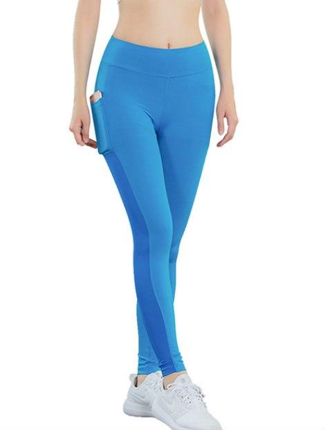 Wholesale Striking Fitness Blue Pant Manufacturer