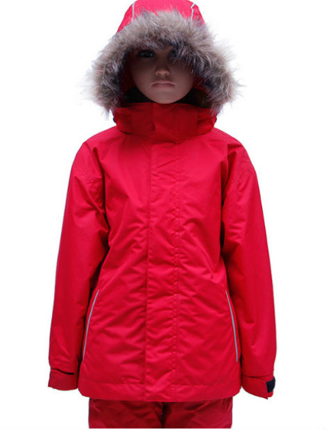 Wholesale Bright Red Jacket for Toddlers