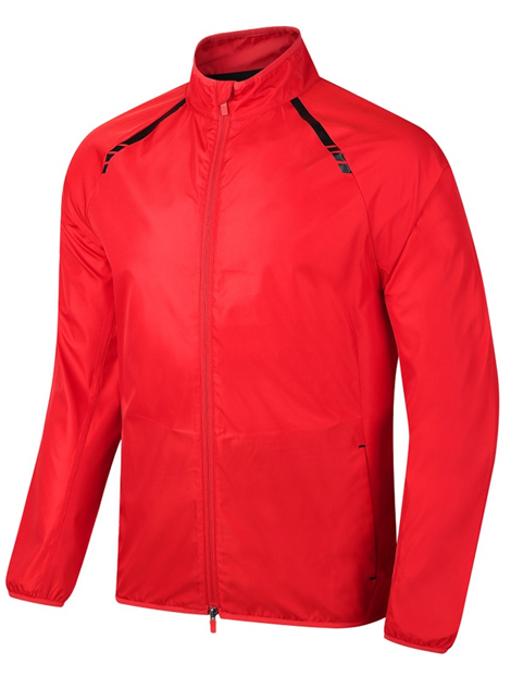 Wholesale Bright Red Sports Jacket Manufacturer