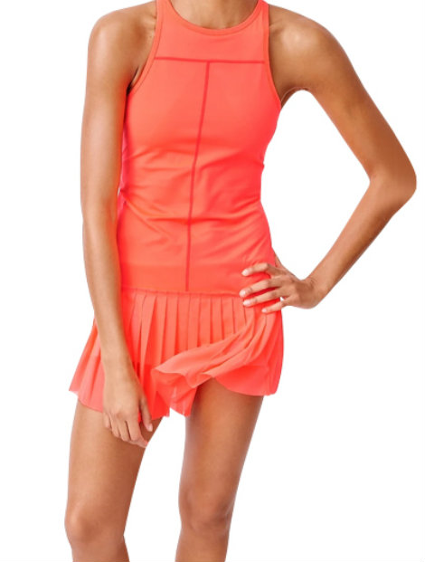 Wholesale Bright Red Tennis Skirt Manufacturer