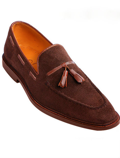 Wholesale Brown Leather Loafers Manufacturer
