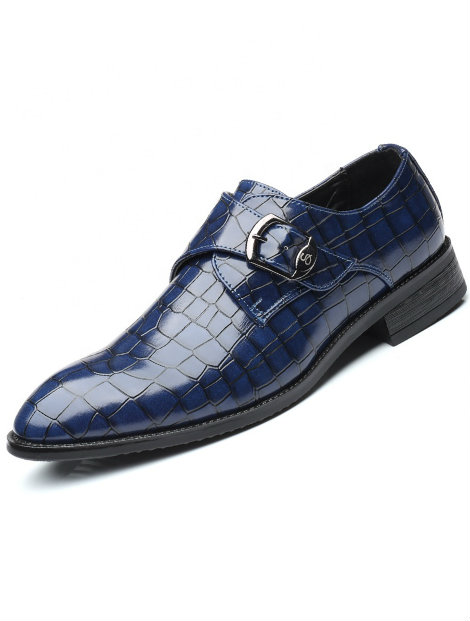 Wholesale Buckle Blue Loafers Manufacturer