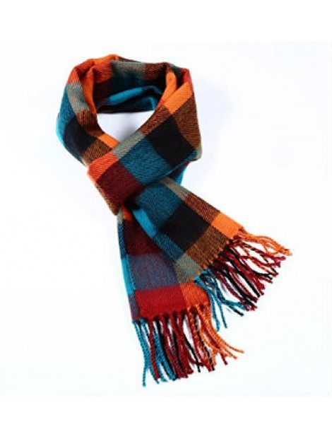 Wholesale Fashionable Checked Scarf Manufacturer