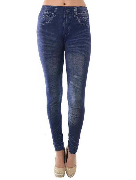Wholesale Classic Blue Women's Leggings Manufacturer