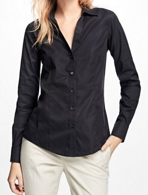 Wholesale Classy Black Women's Shirt