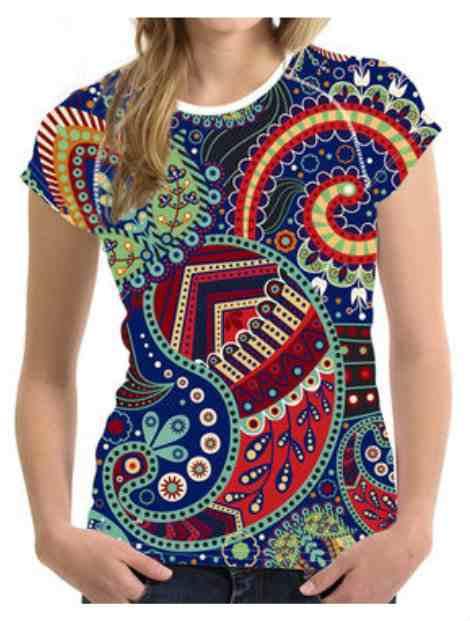 Wholesale Colorful Sublimated T Shirt Manufacturer