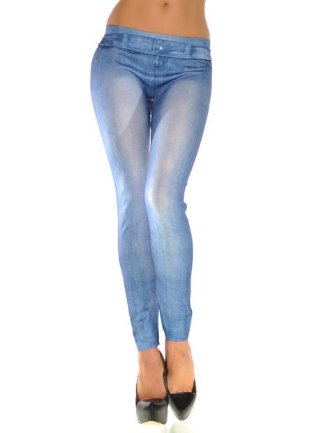 Wholesale Comfort Fit Denim Leggings Manufacturer