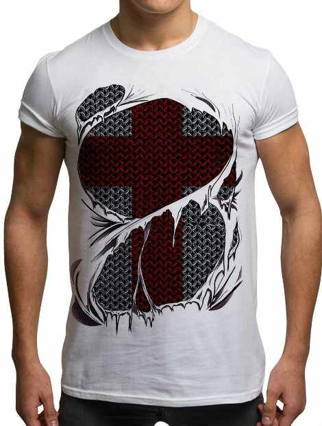 Wholesale Geometric Shapes Sublimated Tshirt Manufacturer