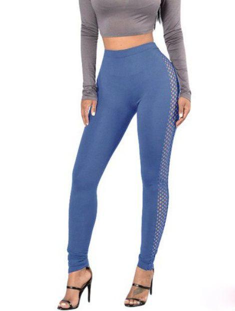 Wholesale Dark Blue Cotton Leggings Manufacturer