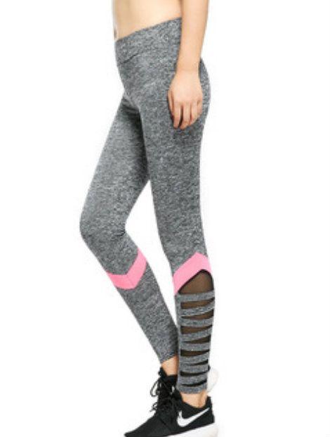Wholesale Dark Gray Cotton Leggings Manufacturer