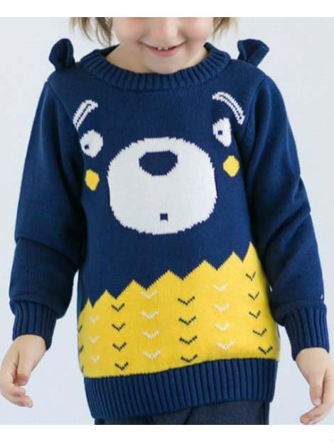 Wholesale Deep Blue Sweater