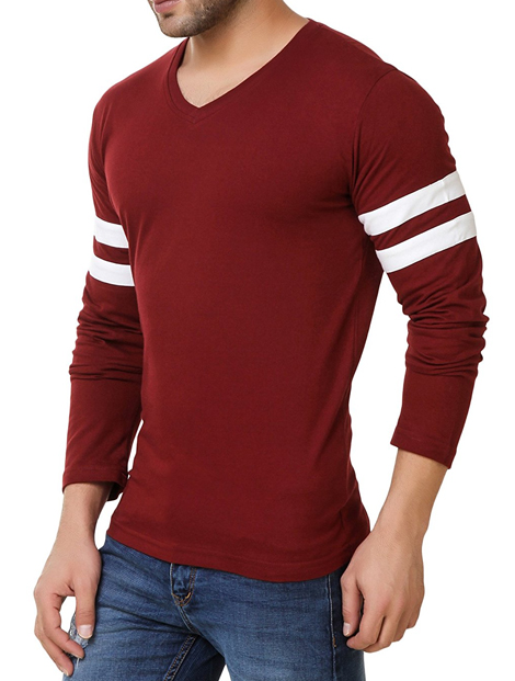 Wholesale Dull Red Tee Manufacturer