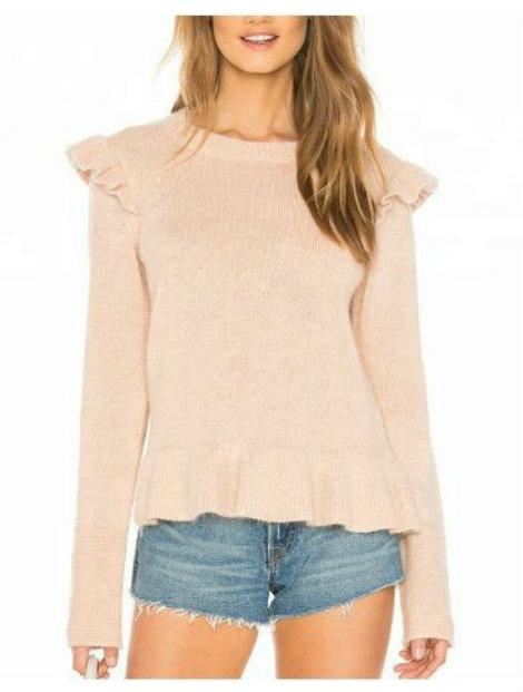 Wholesale Fashionable Beige Women's Sweater Manufacturer