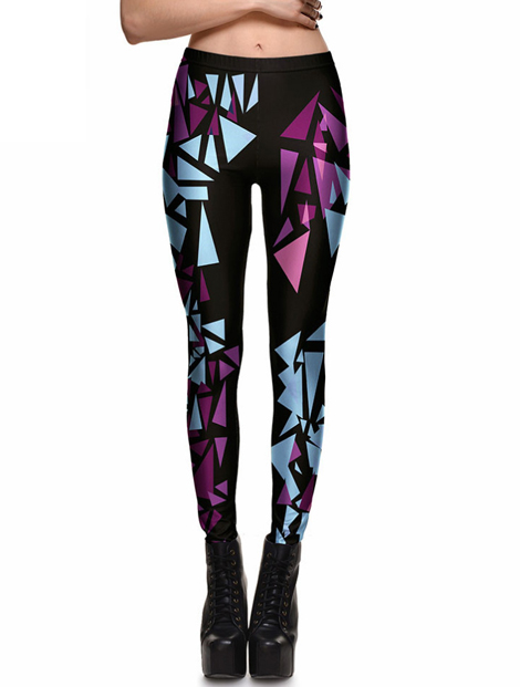 Wholesale Fashionable Black Pu Leather Leggings Manufacturer