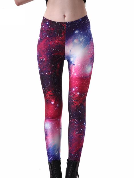 Wholesale Galaxy Printed Women's Leggings