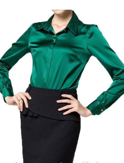 Wholesale Soothing Green Women's Shirt