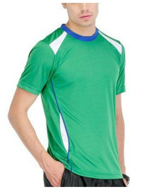 Wholesale Green Short Sleeved T-Shirt Manufacturer