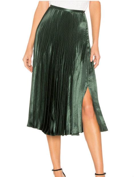Wholesale Stylish Green Skirt Manufacturer