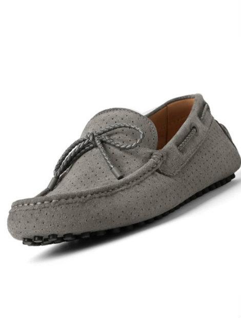 Wholesale Grey Plain Loafers Manufacturer