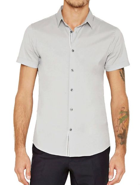 Wholesale Gray Baseball Shirt Manufacturer