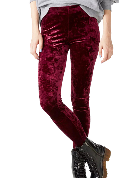 Wholesale Hot Maroon Women's Winter Pant Manufacturer