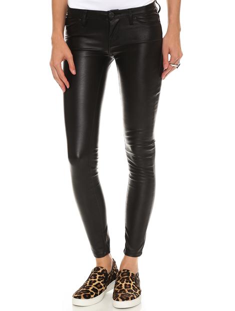 Wholesale Impressive Black Pu Leather Leggings Manufacturer