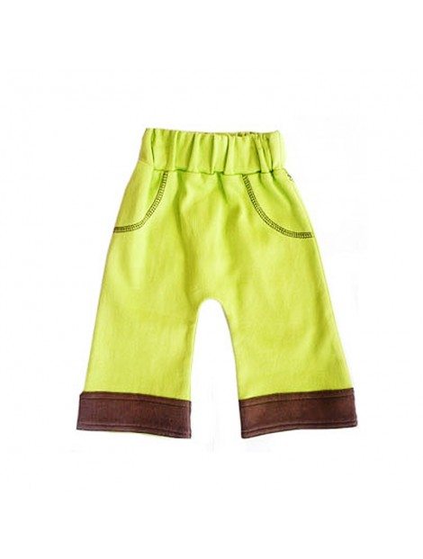 Wholesale Green and Brown Kid's Bottoms