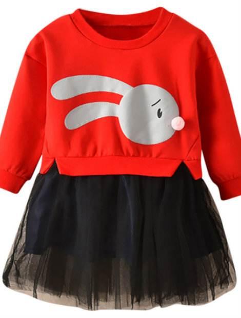 Wholesale Pretty Red Girl's Custom Top