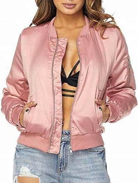 Wholesale Lovely Pink Women's Jacket Manufacturer