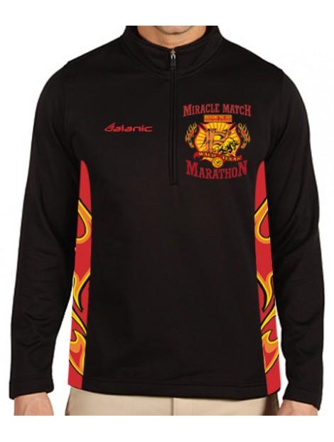 Wholesale Smart Full Sleeved Black T-Shirt Manufacturer