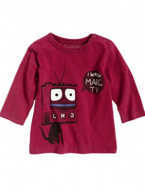 Wholesale Maroon T-Shirt for Toddlers