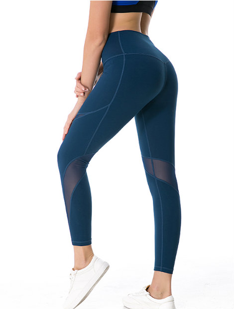 Wholesale Navy Blue and Gold Tight Pant Manufacturer