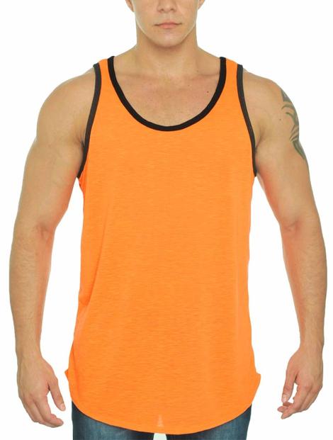 Wholesale Orange & Black Tank Manufacturer