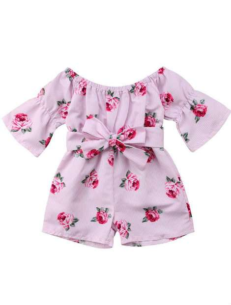Wholesale Pretty Printed Baby Suit