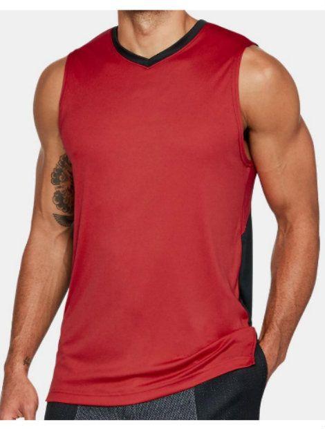 Wholesale Basketball Radiant Red Vest