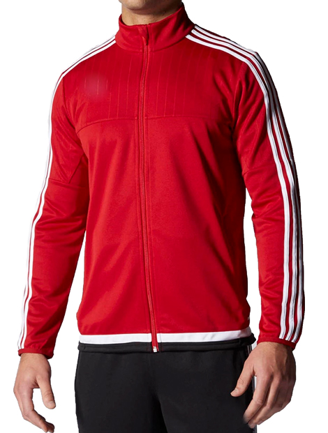 Wholesale Red and White Fitness Jacket