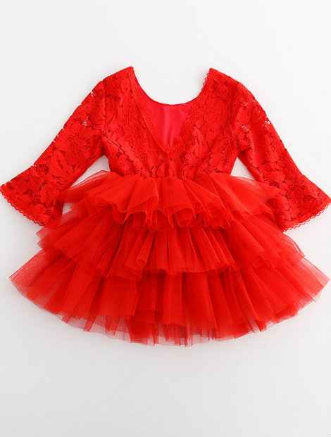 Wholesale Lovely Red Frock